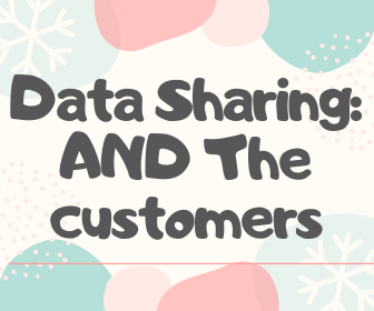Data Sharing: The customer's side of the table