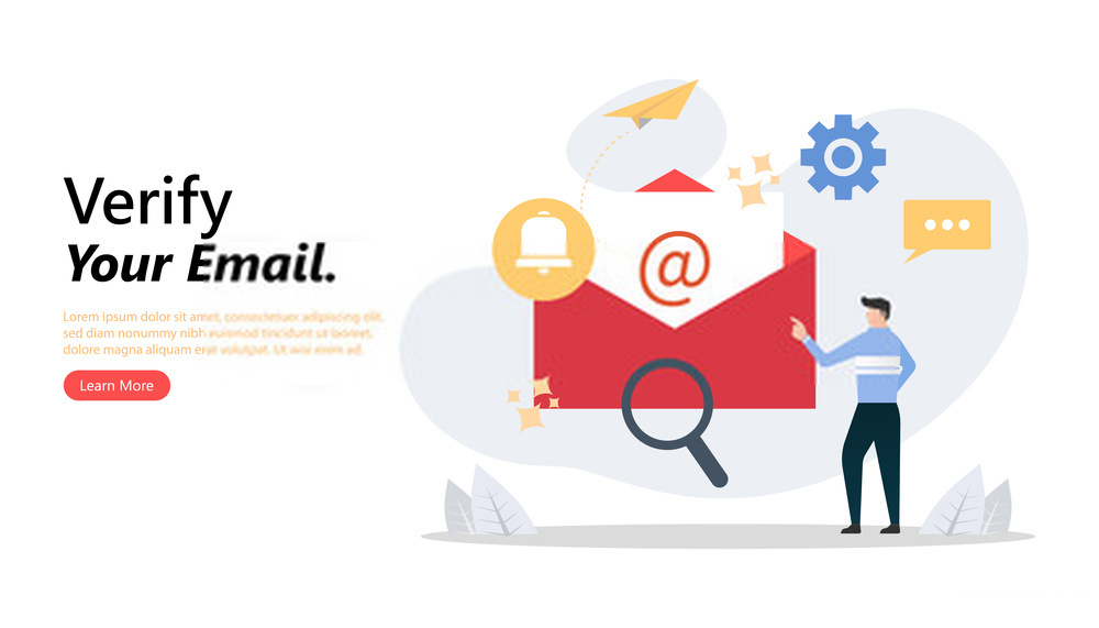 Verify emails before adding to your list.